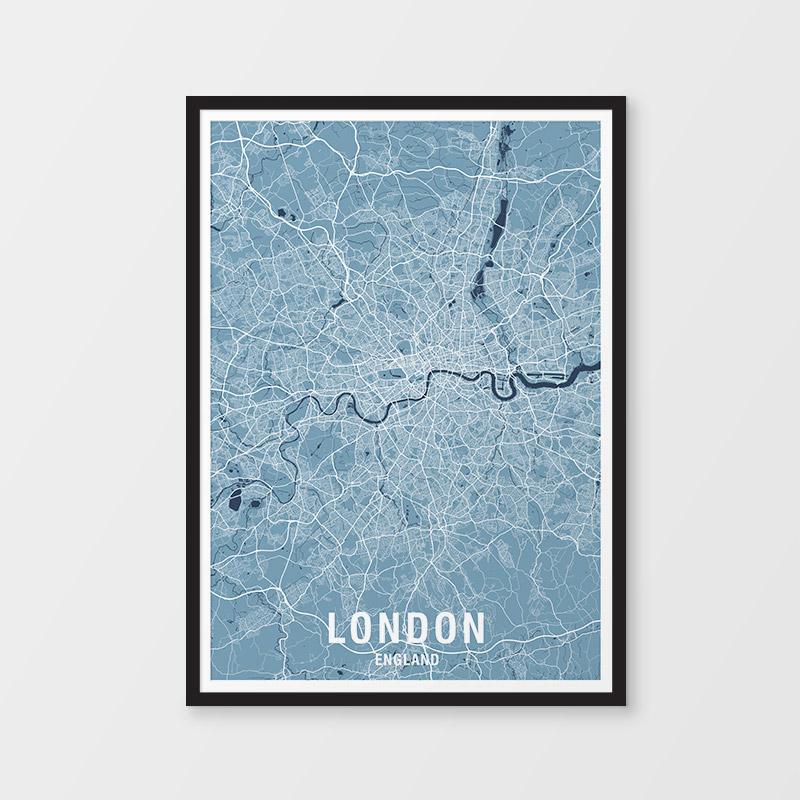 London Map Print