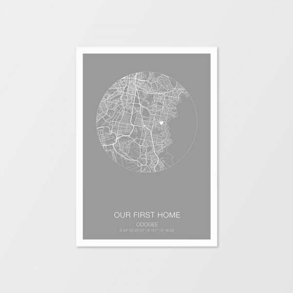 Custom Map Prints