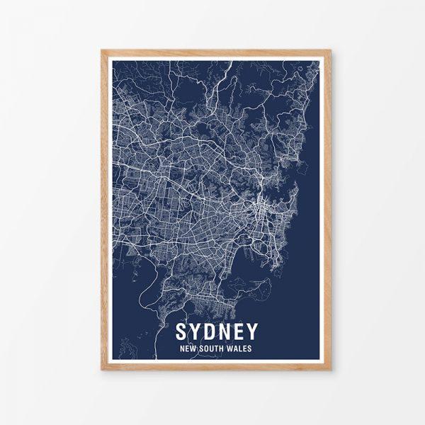 Sydney Map Print