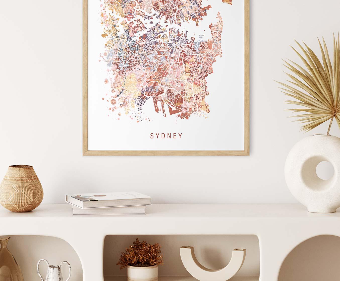 Australian Map Prints